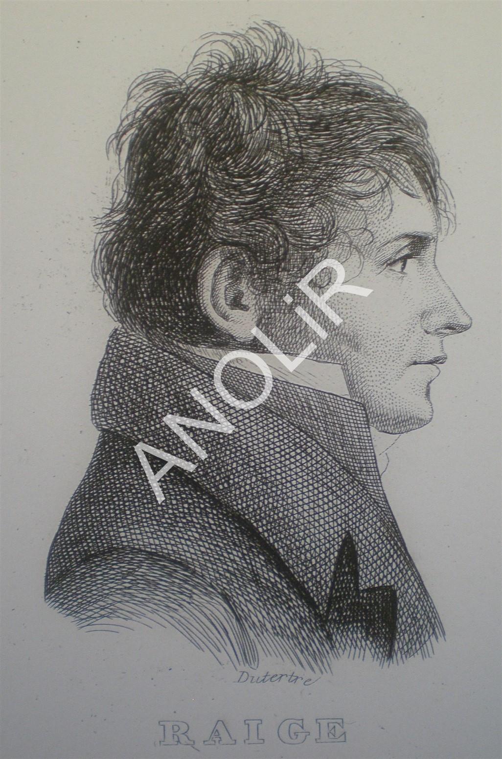 1798: Louis Rémy RAIGE Interprète Militaire