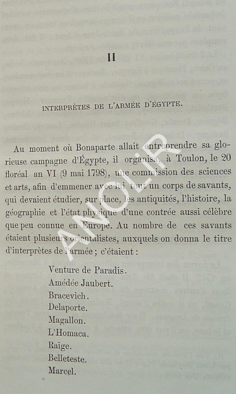 1798: Les 9 Interprètes Militaires de l'expédition d'Égypte