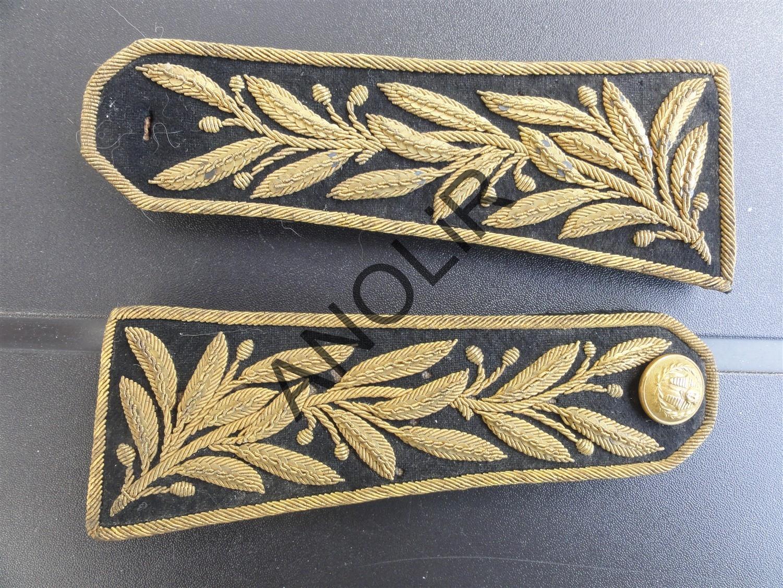 1901: épaulettes d' interprète, grande tenue