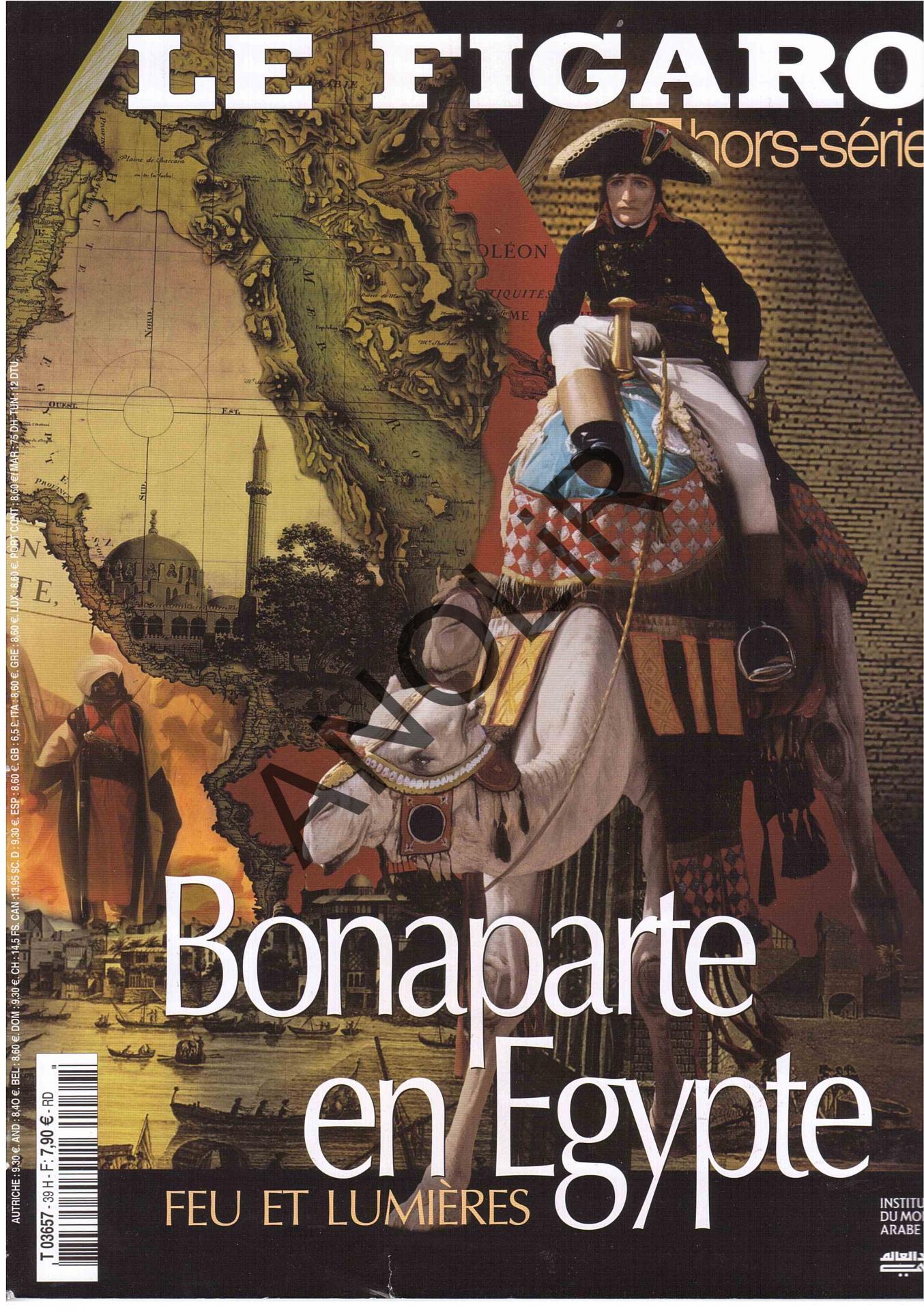 Bonaparte et l'Égypte in Le Figaro/IMA.