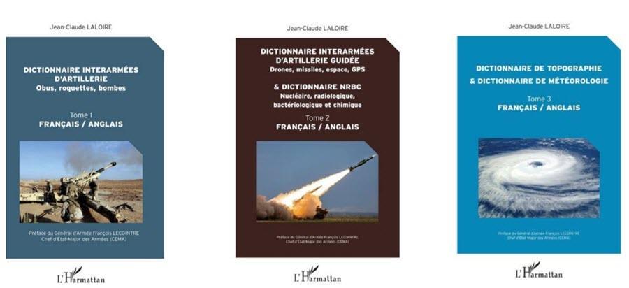 Jean-Claude Laloire Dictionnaire interarmées d'Artillerie